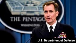 Juru bicara Pentagon Laksamana Muda John Kirby (foto: dok).