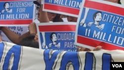La movilización es parte de una serie de expresiones que los activistas que apoyan la reforma de inmigración se propusieron llevar a cabo durante el mes de agosto a nivel nacional.