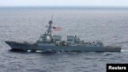 Tàu khu trục USS Chafee của Hoa Kỳ.