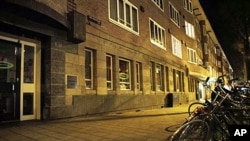 Exterior view of daycare center het Hofnarretje in Amsterdam where a man suspected of abusing preschool children was employed, 12 Dec 2010