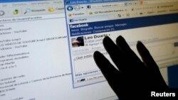 인터넷 사회연결망 서비스인 페이스북 화면. (자료사진)