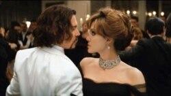 جانی دپ و آنجلینا جولی زوج تازه هنری هالیوود در فیلم «توریست»