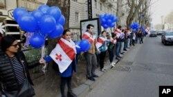Протест у Тбілісі проти закупівель російського газу