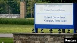 Nhà tù liên bang Hoa Kỳ ở Terre Haute, Indiana.