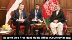 افغانستان خواهان همکاریهای بیشتر لاتویا شد