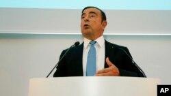 Nissan ဥကၠဌ Carlos Ghosn