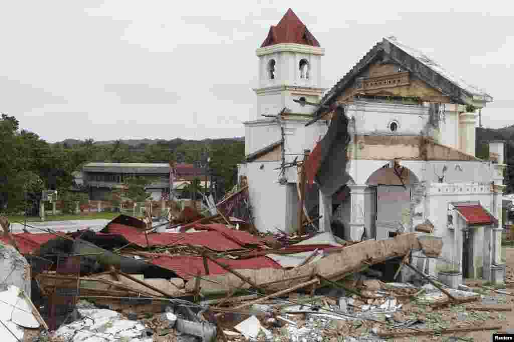 Ավերիչ երկրաշարժ Ֆիլիպիններում և դրա հետևանքները
