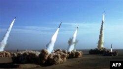 Испытательные запуски иранских ракет-перехватчиков