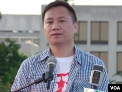 1989年天安门广场学生领袖王丹 (美国之音致远)
