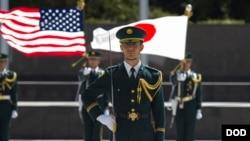 美日軍事同盟被視為印太地區安全的基石(美國國防部資料照)