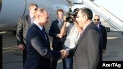 Vladimir Putin və Xələf Xələfov