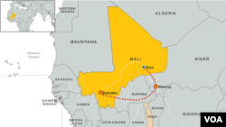 Idrissa Fall's Itinerary in Mali and Niger