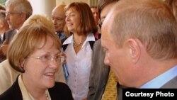 Карен Давиша на встрече с Владимиром Путиным