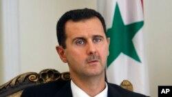 عکس آرشیوی - بشار اسد رئیس دولت حاکم بر سوریه