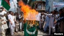 کابل و شمار دیگر از شهرهای افغانستان در این اواخر شاهد مظاهرات ضد پاکستان بود