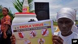 Campaña preventiva en Monrovia, la capital de Liberia.