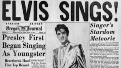 Elvis Presley in the news