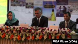 کنفرانس خبری مسولین ایشیا فوندیشن در کابل