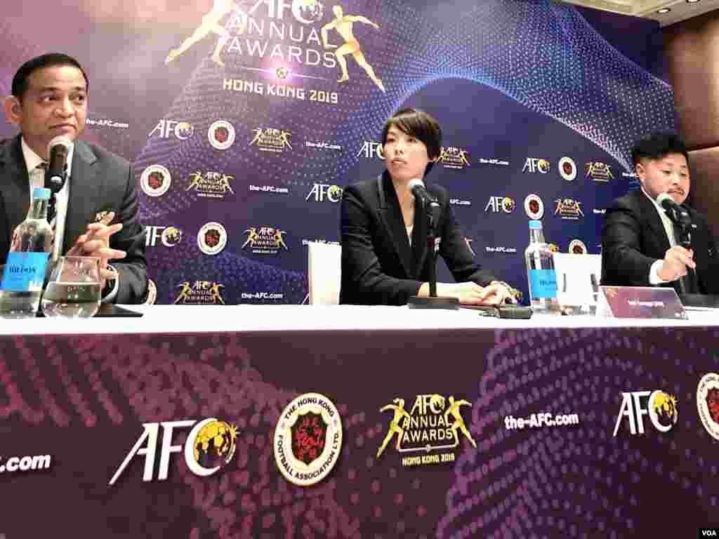 نشست خبری پیش از مراسم بهترینهای فوتبال آسیا - بخت بالای ساکی کوماگایی و علیرضا بیرانوند برای کسب جایزه بهترین فوتبالیست آسیا