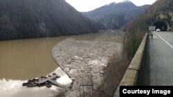 Rijeka Drina, plutajući otpad, Višegrad