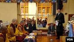 Karmapa and Lobsang Sangay