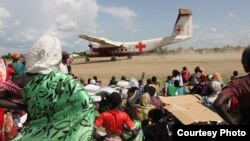 International Committee of the Red Cross, ICRC, has conducted medical evacuations of people wounded in South Sudan's conflict. (Credit: ICRC)