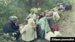 kachin IDP camp flee (Citizen Journalist)