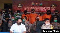 Kapolda Sulawesi Irjen Syafril Nursal saat memberikan keterangan pers terkait peredaran narkoba di Sulawesi Tengah (30 Juni 2020) Foto : Humas Polda Sulawesi Tengah