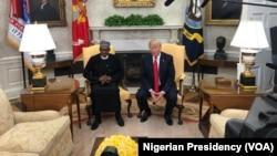 Ganawa Tsakanin Shugaba Buhari Da Shugaba Trump A Fadar White House