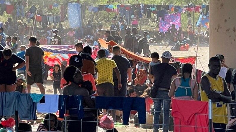 Thousands of Migrants in Limbo Under Texas Bridge...