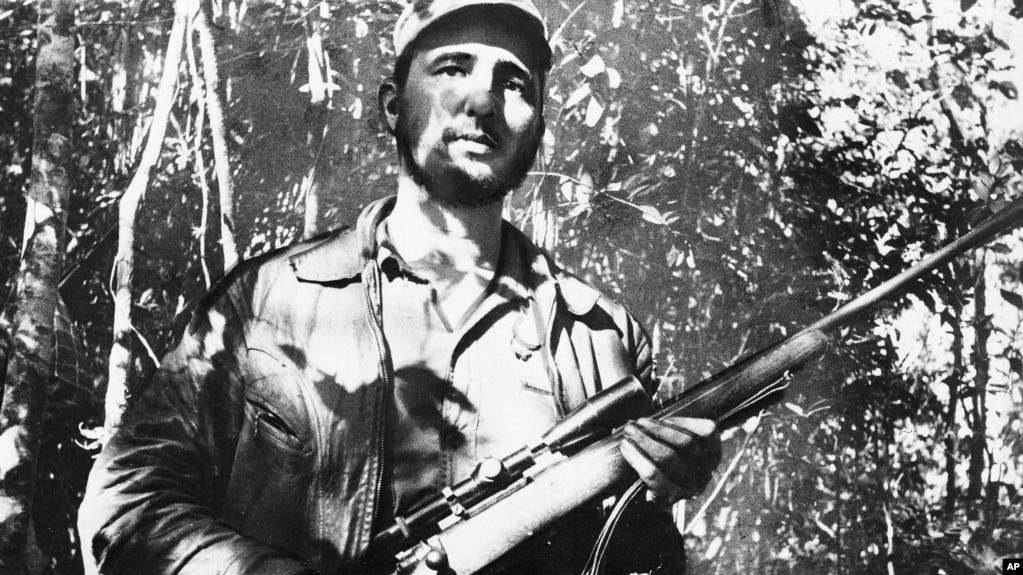 Chân dung Fidel Castro.