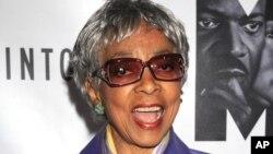 Ruby Dee fue una aclamada actriz y activista de derechos humanos.