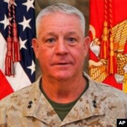 جنرال چارلس گورگانوس، فرمانده نیرو های امریکایی در جنوب غرب افغانستان