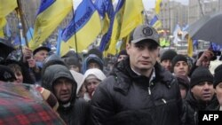 Віталій Кличко на Підприємницькому Майдані.
