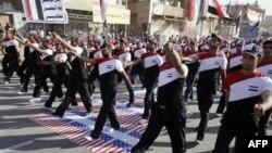 Протест у Багдаді проти американської присутноїсті в Іраку