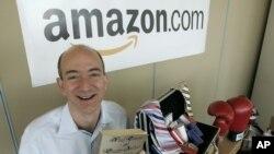 CEO Amazon, Jeff Bezos (foto: ilustrasi).