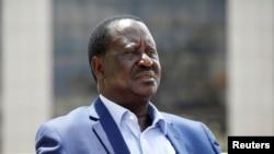 Jagoran 'yan adawan Kenya Raila Odinga