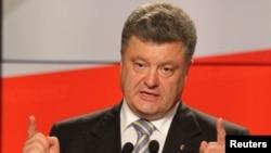 Presiden terpilih Ukraina Petro Poroshenko.