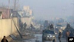 阿富汗首都喀布爾2019年1月15日發生恐怖襲擊。