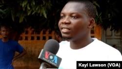 Félix Tagba, président de l'Association EcoJogging, Lomé, 02 mars 2019. (VOA/Kayi Lawson)