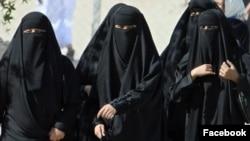 Saoudiennes à Hofuf, 22 novembre 2007.