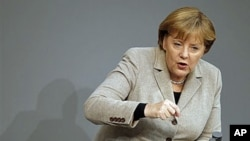 German Chancellor Angela Merkel (file photo).
