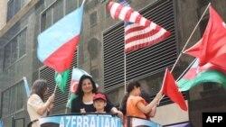 Nyu-Yorkda Türk yürüşündə Azərbaycan sərgisi (VİDEO)