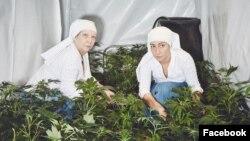 """Las hermanas producen medicinas con ingredientes proporcionados por la """"Madre Tierra"""" para ayudar """"personas que están sufriendo""""."""