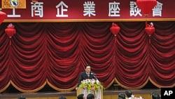 海协会会长陈云林2月24日在欢迎仪式上讲话