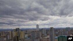 2011년 4월 평양시내 스카이라인