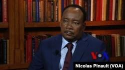 Presidente nigerino, Mahamadou Issoufou.