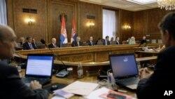 Prva sednica rekonstruisane vlade Srbije, 3. septembra 2013.