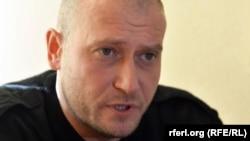 Лідер об'єднання «Правий сектор» Дмитро Ярош