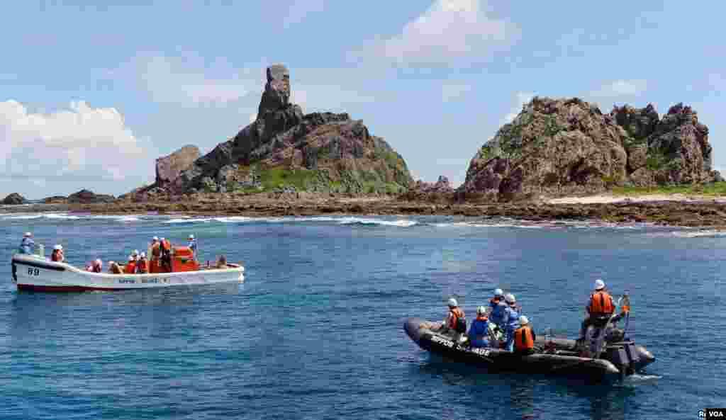 جزیرے می نامی کوجیما کی نگرانی کی جارہی ہے